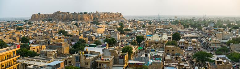Rajasthan「Golden Jaisalmer Fort, the only living fort in the world」:スマホ壁紙(11)