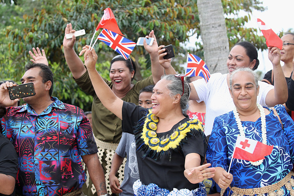 Nuku'alofa「The Duke And Duchess Of Sussex Visit Tonga - Day 2」:写真・画像(11)[壁紙.com]