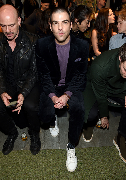 Zachary Quinto「Todd Snyder - Front Row & Backstage - New York Fashion Week: Men's」:写真・画像(17)[壁紙.com]