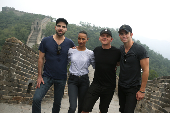 世界遺産「Star Trek Beyond Asia Tour - Great Wall Visit」:写真・画像(1)[壁紙.com]