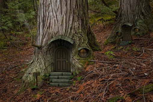 Fairy「Fairy tree house」:スマホ壁紙(15)