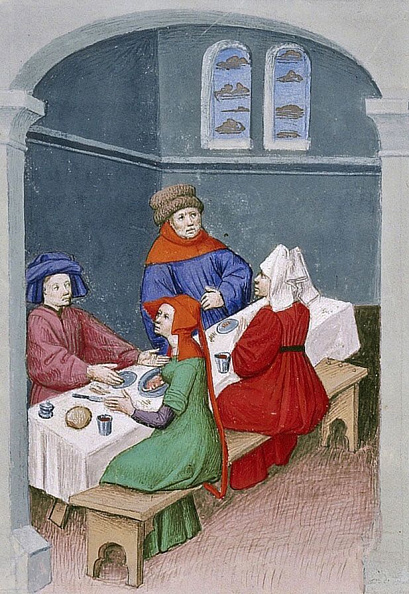 Medieval「The Meal Miniature From The Decameron By Giovanni Boccaccio」:写真・画像(12)[壁紙.com]