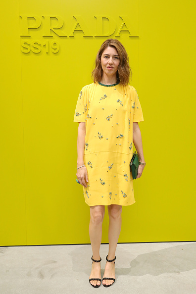 Sofia Coppola「Prada Spring/Summer 2019 Womenswear Fashion Show Arrivals and Front R」:写真・画像(5)[壁紙.com]