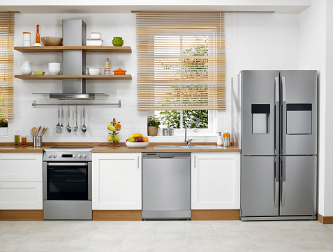 Refrigerator「Domestic kitchen」:スマホ壁紙(0)