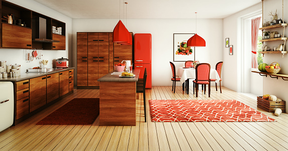 Rug「Domestic Kitchen and Dining Room」:スマホ壁紙(15)