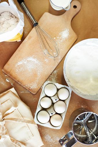 趣味・暮らし「Domestic kitchen and baking ingredients. Debica, Poland」:スマホ壁紙(5)