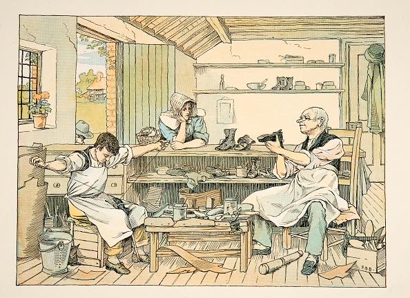 Chromolithograph「The Cobbler」:写真・画像(11)[壁紙.com]
