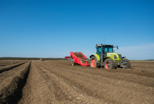 Planting「Potato planting by machine, Norfolk UK」:スマホ壁紙(5)