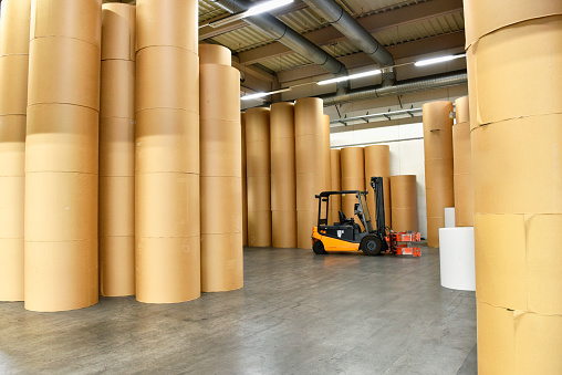 ������「Printing shop: paper rolls」:スマホ壁紙(4)