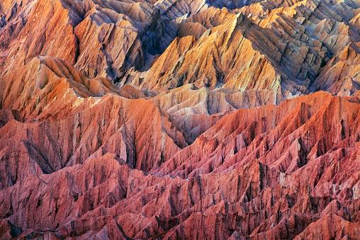 チリ共和国「Valle de la Muerte at sunset, Atacama Desert」:スマホ壁紙(6)
