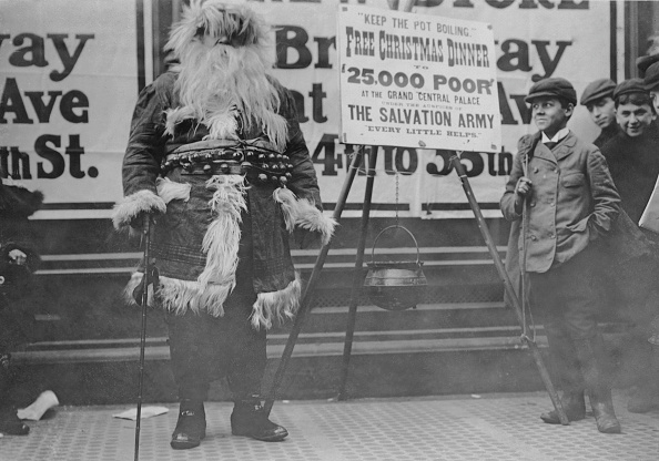 Christmas「Salvation Army Santa」:写真・画像(9)[壁紙.com]