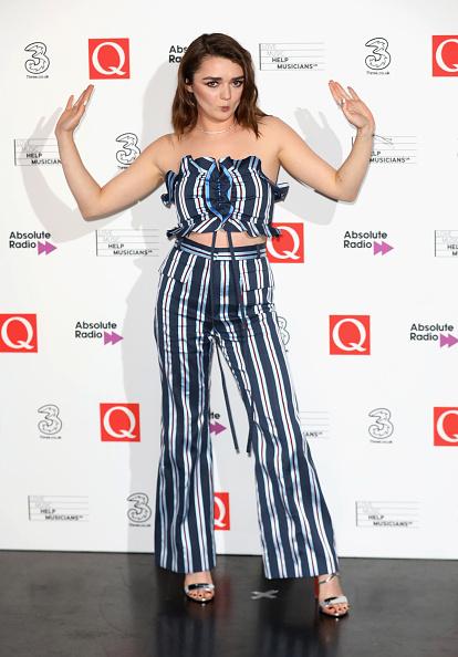 Maisie Williams「Q Awards 2017 - Winners Room」:写真・画像(18)[壁紙.com]