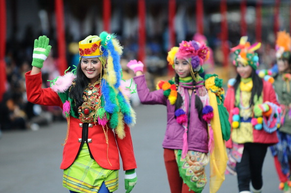 Octopus「Revellers Gather For Jember Fashion Carnival」:写真・画像(14)[壁紙.com]