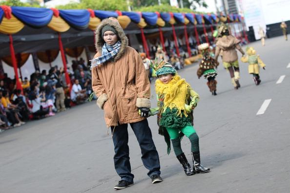 Octopus「Revellers Gather For Jember Fashion Carnival」:写真・画像(14)[壁紙.com]