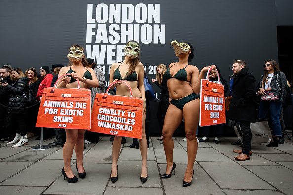 London Fashion Week「Animal Charity Protests At Fashion Week」:写真・画像(11)[壁紙.com]