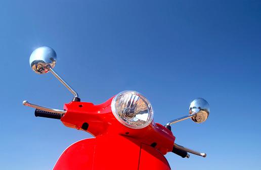 Moped「Retro Vespa」:スマホ壁紙(9)