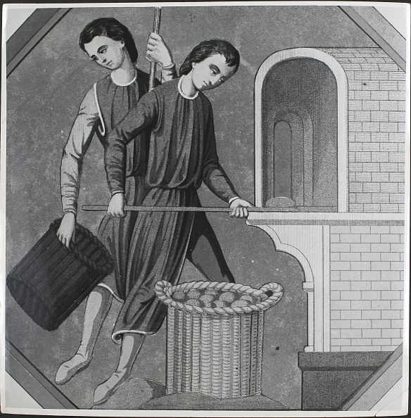 Oven「14th Century French Bakers」:写真・画像(1)[壁紙.com]