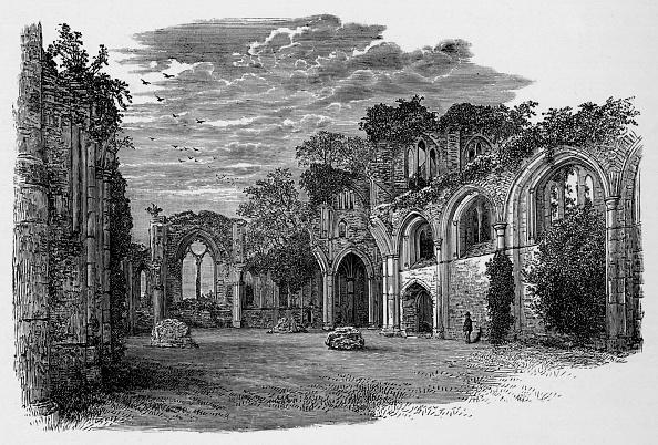 Overcast「'Interior, Looking East', Netley Abbey, c1880, (1897)」:写真・画像(13)[壁紙.com]