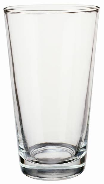 An empty pint drinking glass:スマホ壁紙(壁紙.com)