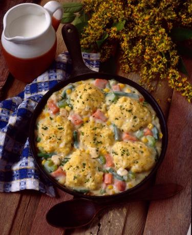 Skillet - Cooking Pan「Southern chicken vegetables and dumplings in skillet」:スマホ壁紙(19)