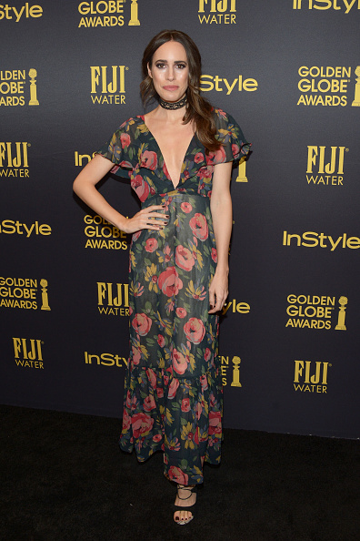 Foliate Pattern「Hollywood Foreign Press Association And InStyle Celebrate The 2017 Golden Globe Award Season」:写真・画像(16)[壁紙.com]