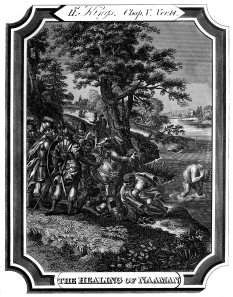 Old Testament「Elisha cures Naaman of leprosy」:写真・画像(18)[壁紙.com]