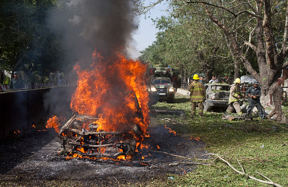 Car Bomb「Three Killed, Scores Wounded As Suicide Attack Targets NATO HQ」:写真・画像(12)[壁紙.com]