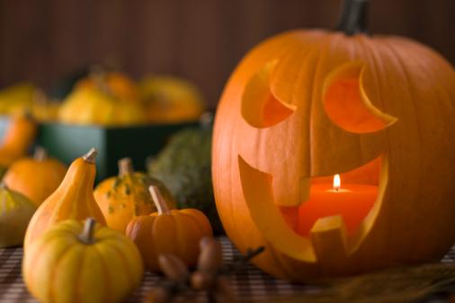 どんぐり セレクティブフォーカス「Halloween」:スマホ壁紙(15)