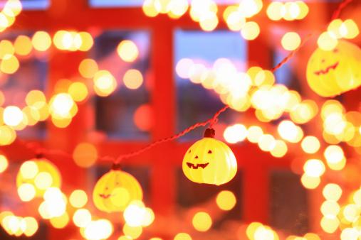 ハロウィン「Halloween」:スマホ壁紙(10)