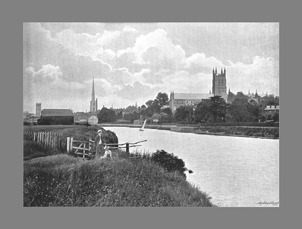 Anglican「Worcester Cathedral, C1900」:写真・画像(0)[壁紙.com]