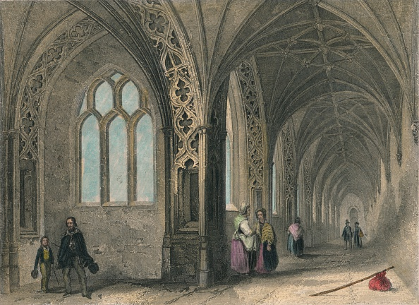 Anglican「Worcester Cathedral. The Cloisters, 1836.」:写真・画像(19)[壁紙.com]