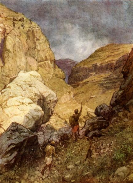 Israelite「Jonathan defying the outposts of the Philistines.」:写真・画像(13)[壁紙.com]