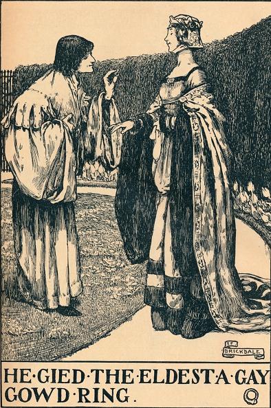 Fairy Tale「llustration to The Twa Sisters o Binnorie c 1900」:写真・画像(18)[壁紙.com]