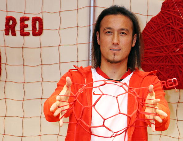 Japan National Soccer Team「Nike (RED) Event at NikeTown Tokyo」:写真・画像(1)[壁紙.com]