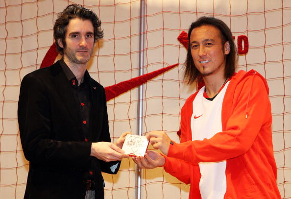 Japan National Soccer Team「Nike (RED) Event at NikeTown Tokyo」:写真・画像(9)[壁紙.com]