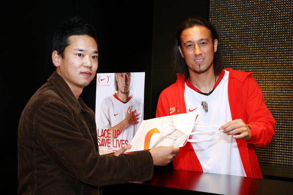 Japan National Soccer Team「Nike (RED) Event at NikeTown Tokyo」:写真・画像(5)[壁紙.com]