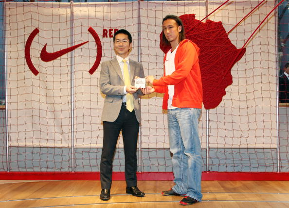 Japan National Soccer Team「Nike (RED) Event at NikeTown Tokyo」:写真・画像(4)[壁紙.com]