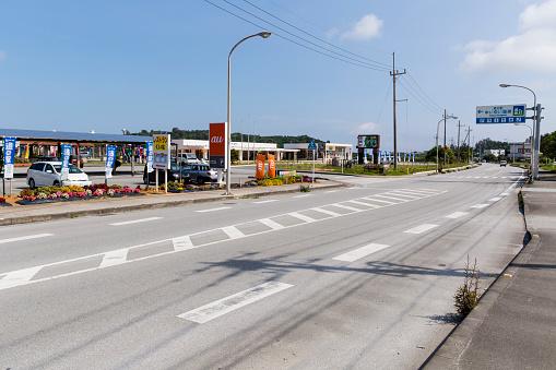 里山「Japan National Route 58 Highway in Kunigami, Okinawa, Japan」:スマホ壁紙(19)