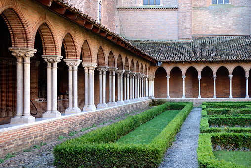Convent「Cloisters Jacobins Church Toulouse」:スマホ壁紙(4)