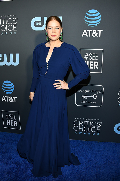 Critics' Choice Movie Awards「Claire Foy Accepts The #SeeHer Award At The 24th Annual Critics' Choice Awards」:写真・画像(7)[壁紙.com]