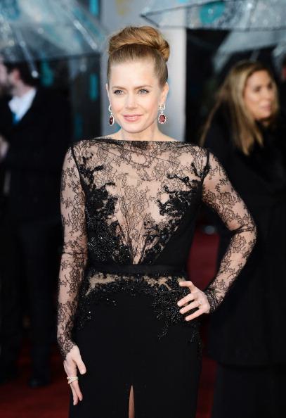 Elie Saab - Designer Label「EE British Academy Film Awards - Red Carpet Arrivals」:写真・画像(1)[壁紙.com]