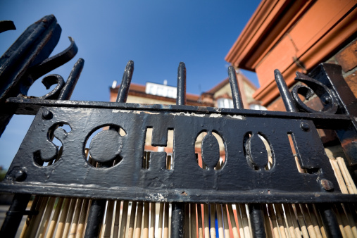 Distorted Image「School Gate」:スマホ壁紙(15)