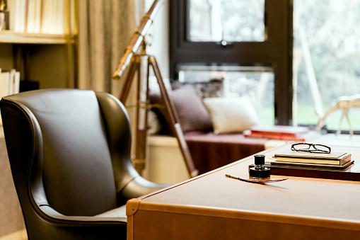 Home Office「the study」:スマホ壁紙(5)