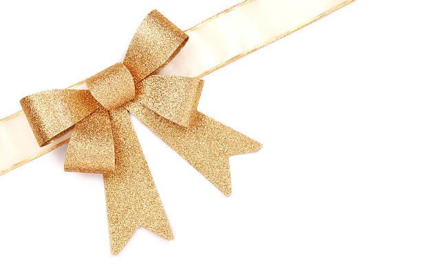 Gold Present Bow:スマホ壁紙(壁紙.com)