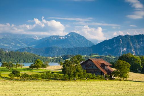 European Alps「Lake Lucerne scenery」:スマホ壁紙(18)