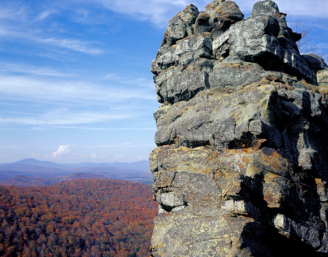 アディロンダック森林保護区「Indian Rock and Fall Foliage」:スマホ壁紙(14)