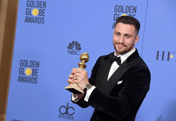 Golden Globe Statue「74th Annual Golden Globe Awards - Press Room」:写真・画像(15)[壁紙.com]