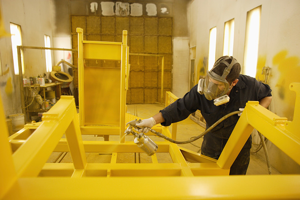 Paint「Painting Booth, Heavy equipment factory, Ontario, Canada」:写真・画像(17)[壁紙.com]