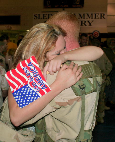 Southern USA「Soldiers Re-deploy from Operation Iraqi Freedom」:写真・画像(17)[壁紙.com]