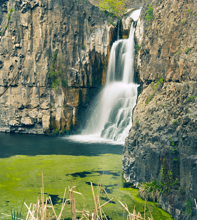 The Nature Conservancy「Waterfall and Horsetails, McCartney Creek, Moses Coulee, Eastern」:スマホ壁紙(18)
